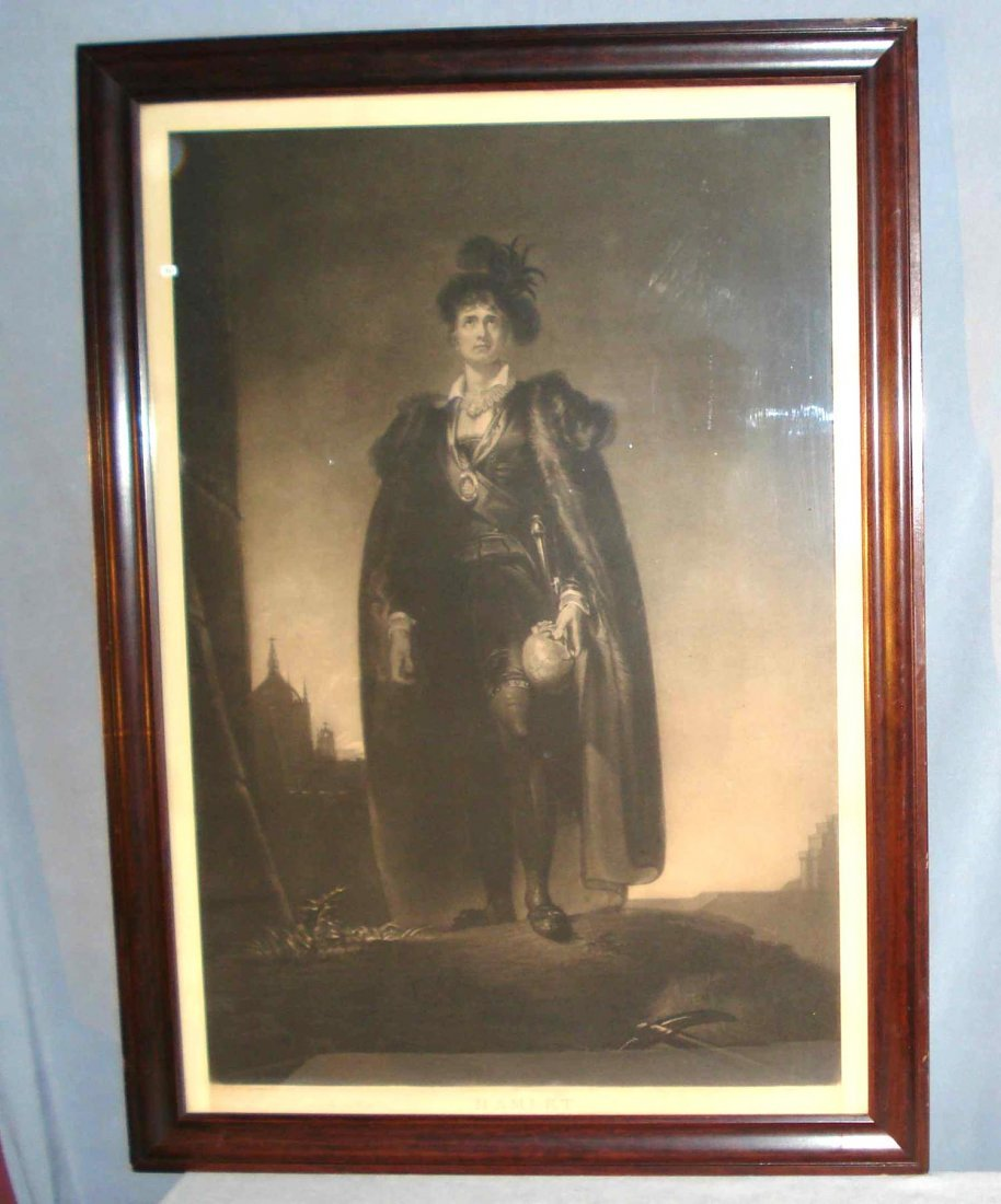 Print Of Hamlet After Thomas Lawrence