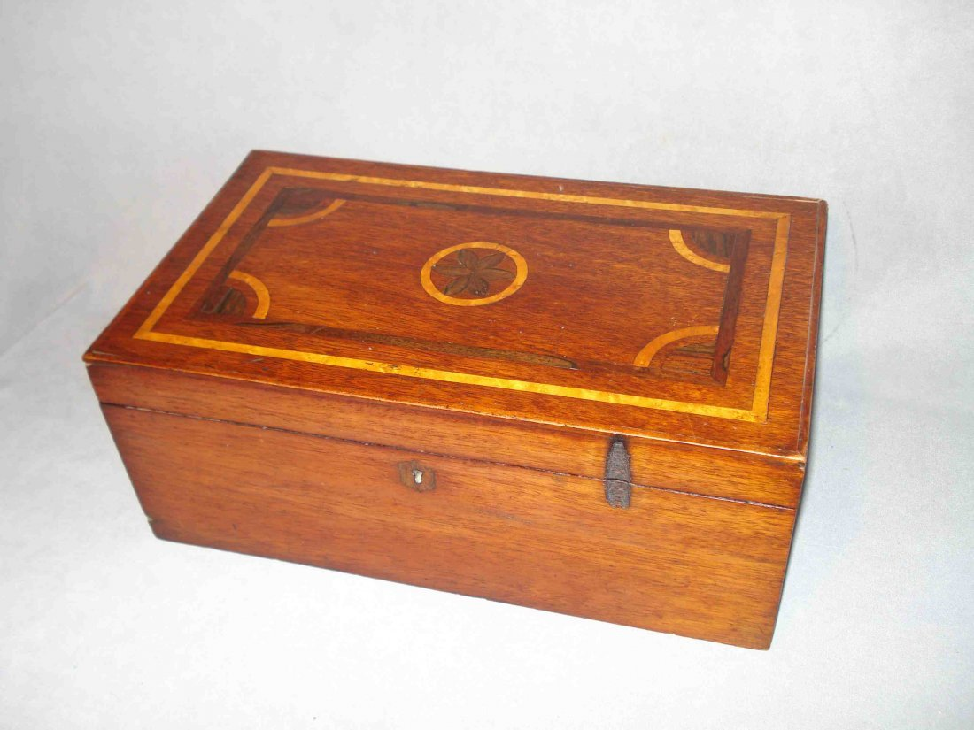 Folk Art Inlay Box