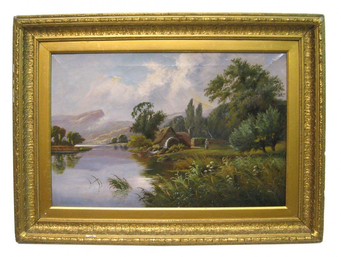 Oil Landscape, By L. Lancaster Hager