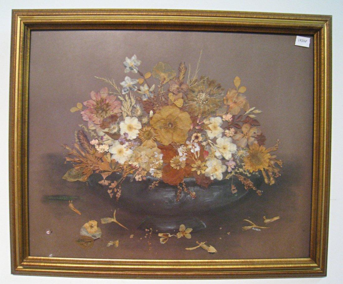 Dried Flower Art By Logan