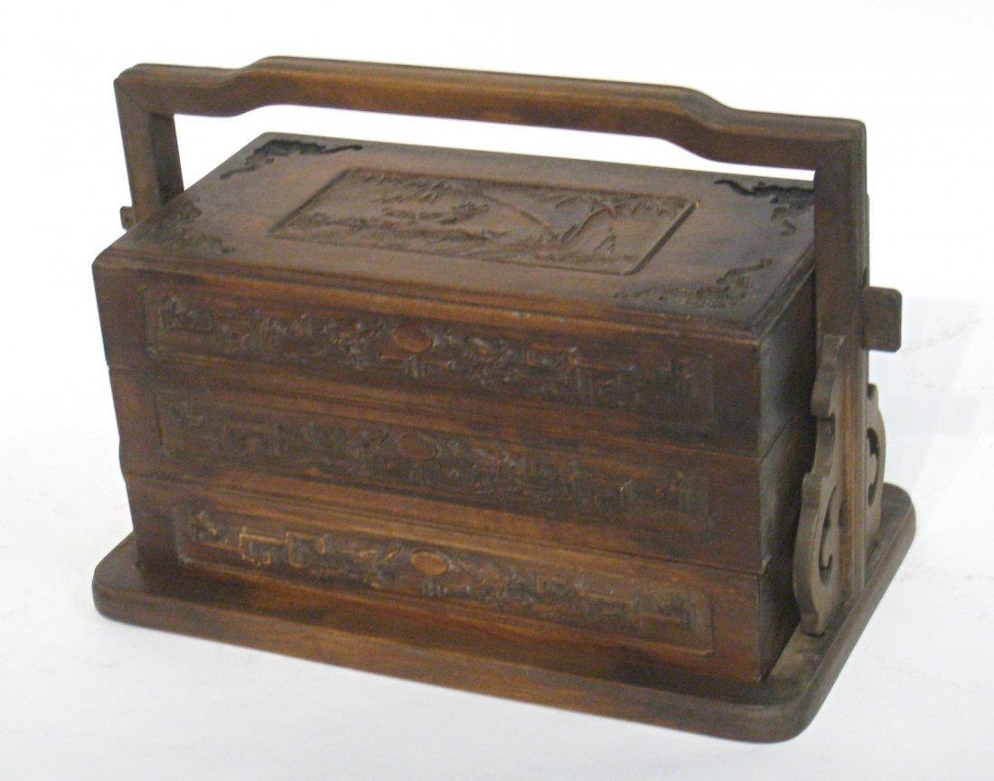 Huanghuali Lunch Box