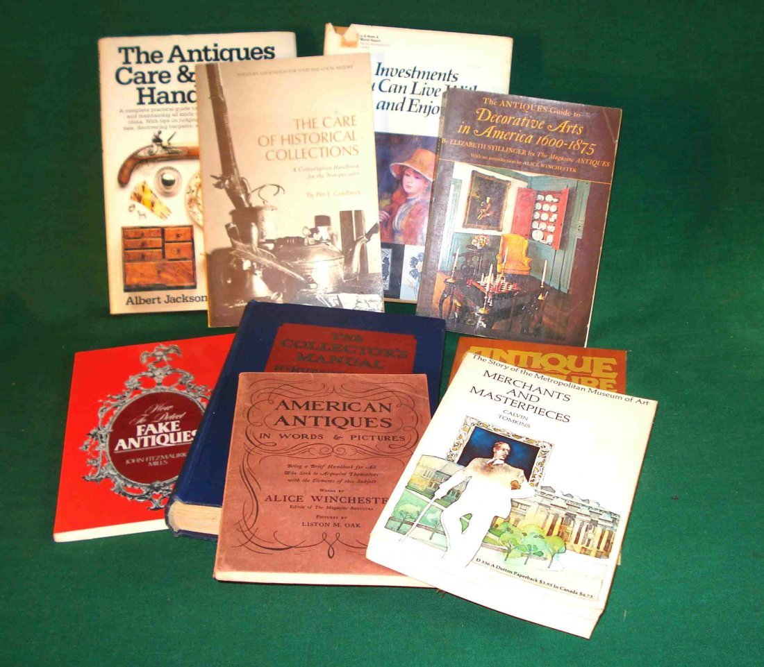 Books On General Antiques