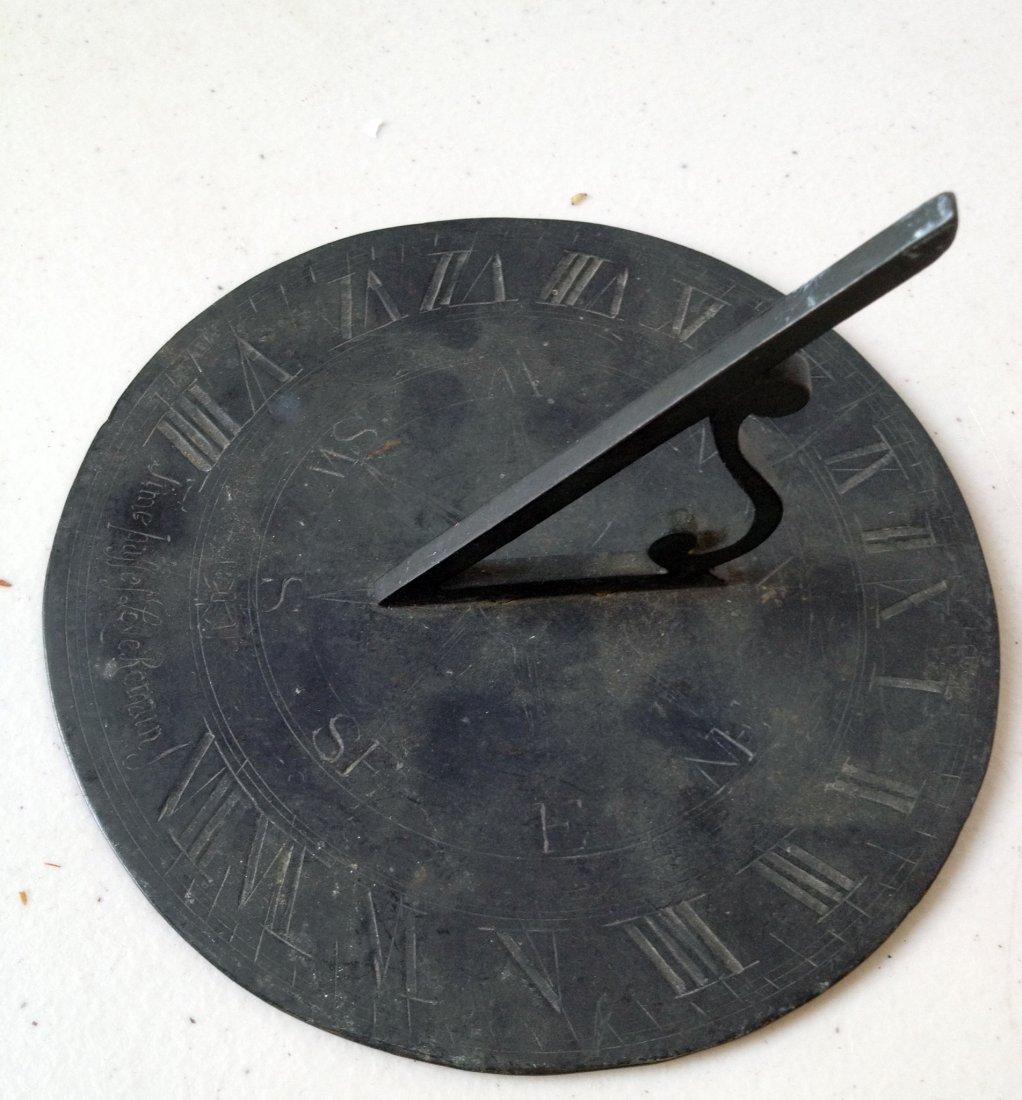 Round Sundial