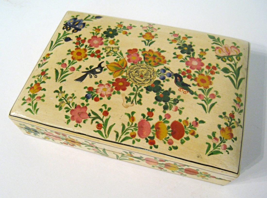 Lacquer And Painted Box
