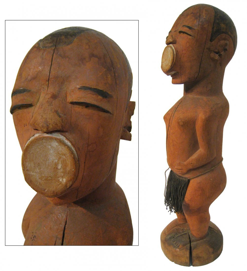 African Makonde Figure