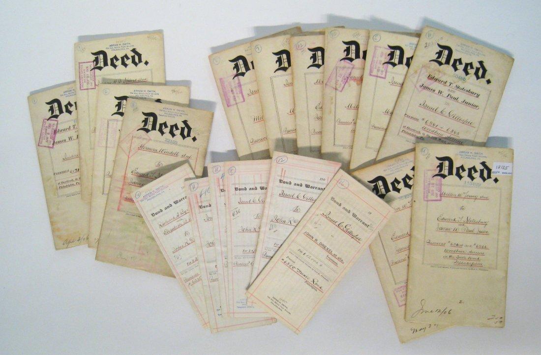 Collection Of Philadelphia Land Deeds