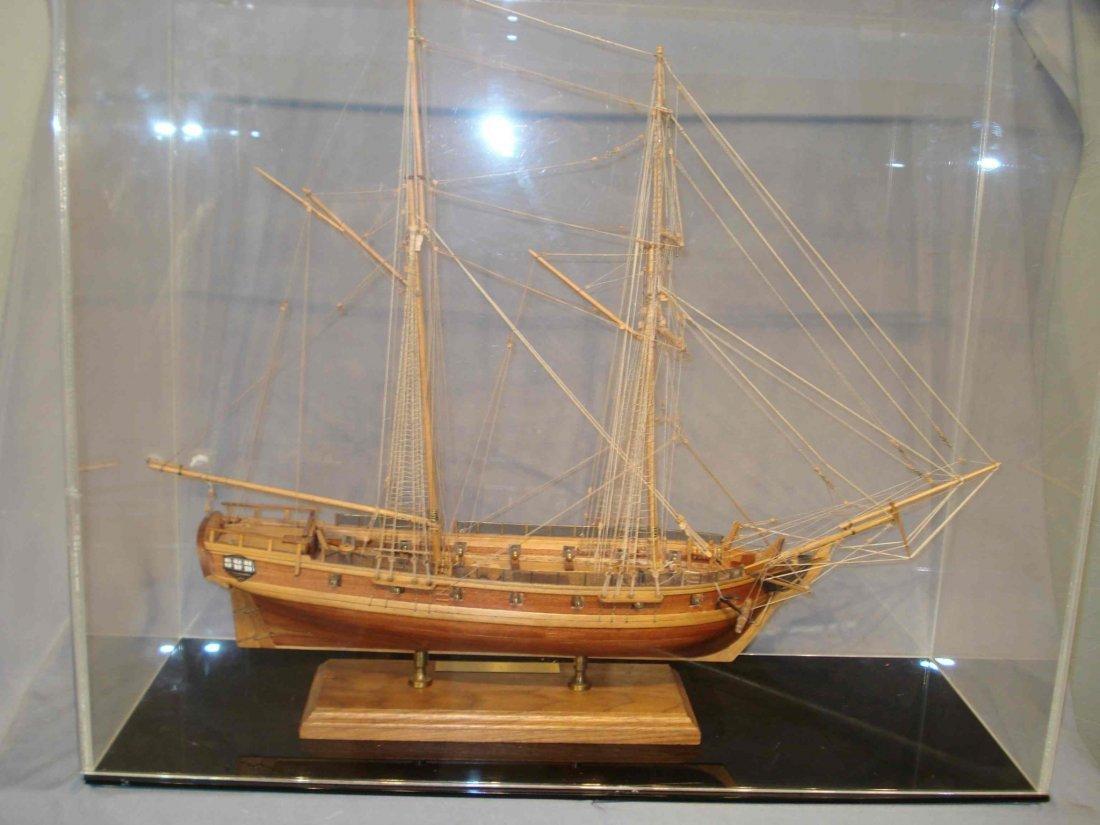 Ships Model Of U S S Enterprise