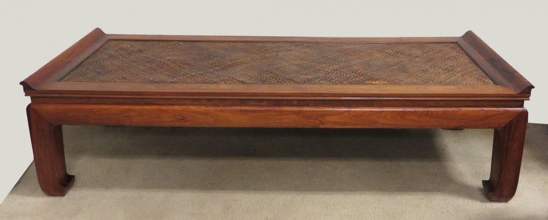 Chinese Huanghuali Wood Bed