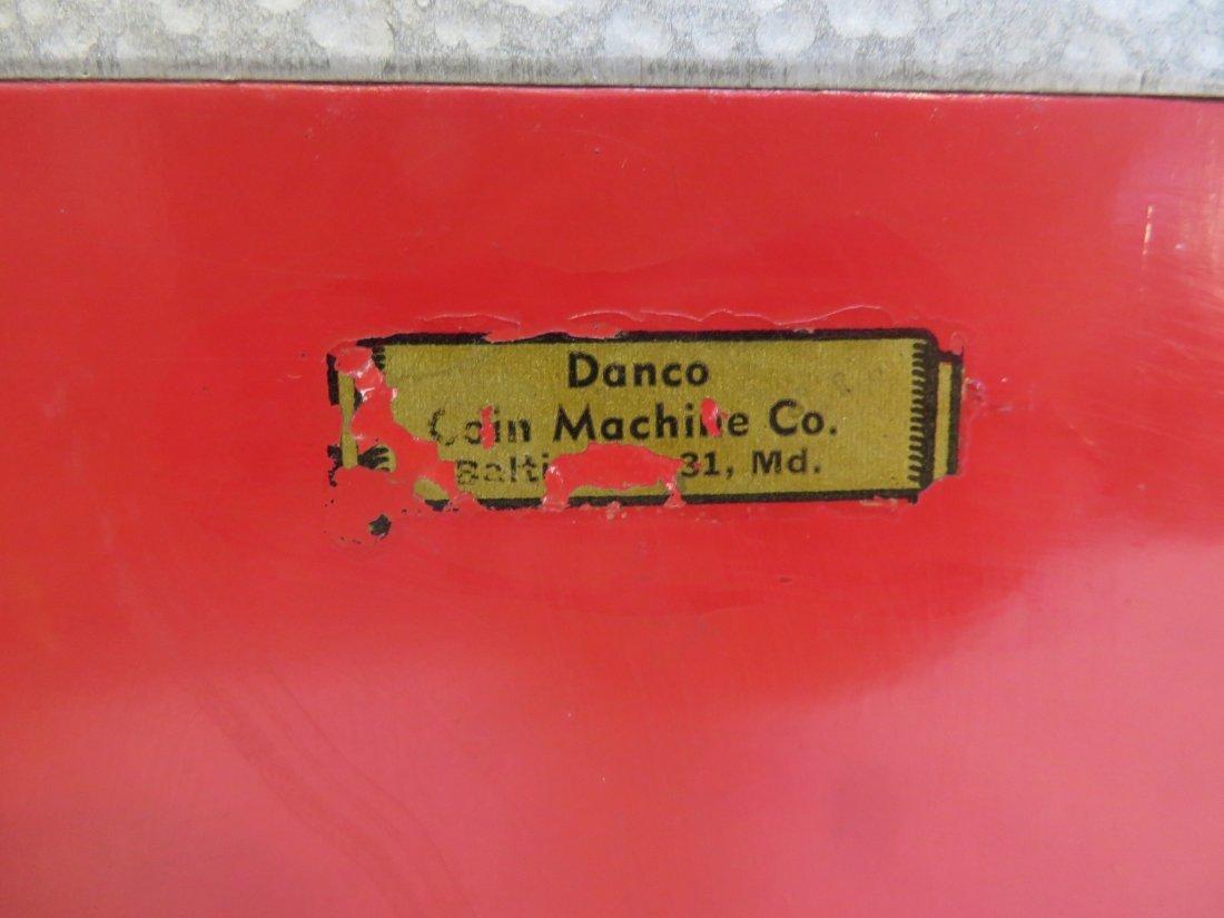 Vintage Acorn Vendor Gumball Machine By Oak Mfg/Co - 8