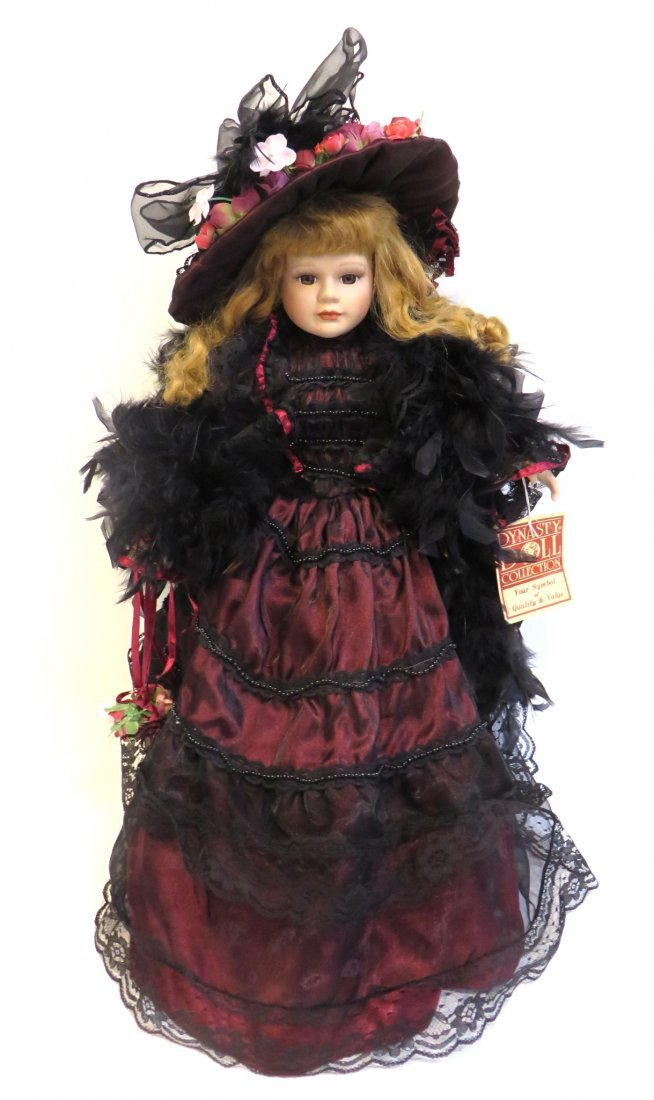 Victorian Dynasty Doll  Of The Samantha Collection