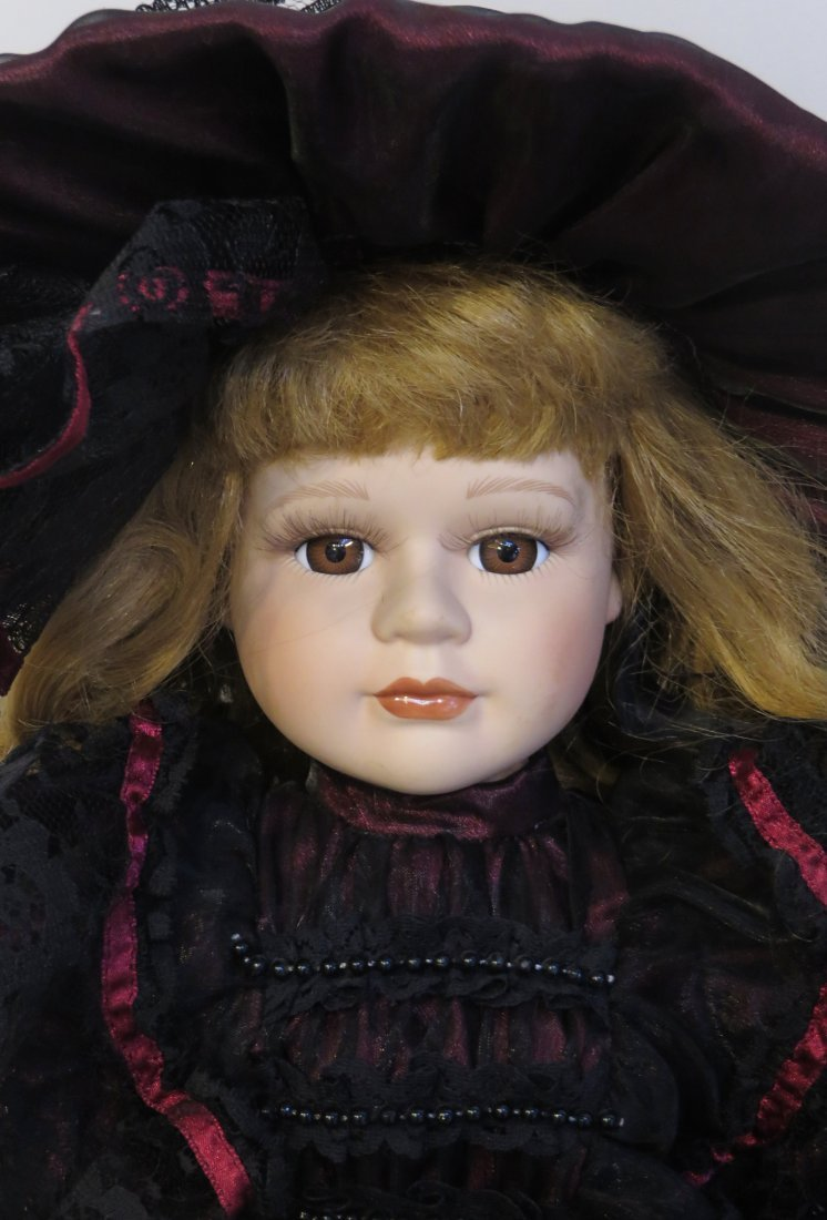 Victorian Dynasty Doll  Of The Samantha Collection - 2