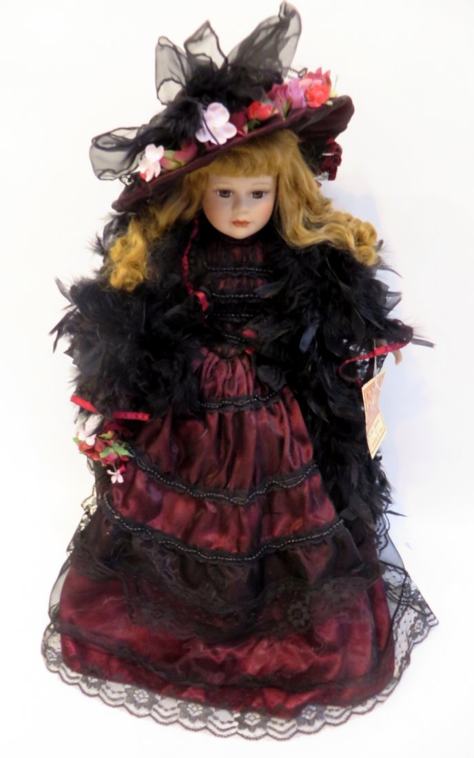 Victorian Dynasty Doll  Of The Samantha Collection - 3