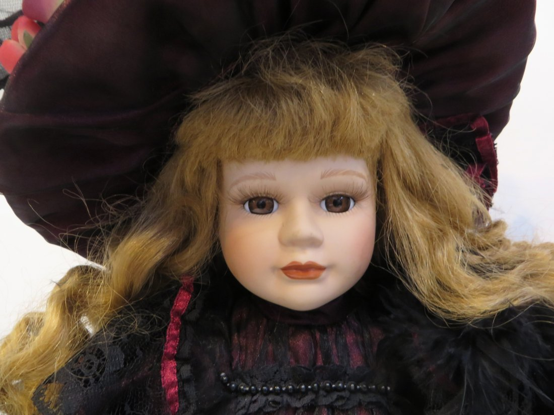Victorian Dynasty Doll  Of The Samantha Collection - 4