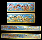 Qing Dynasty Cloisonne Paper Weights