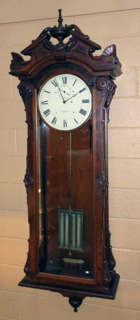 """Howard """"No 60 Regulator"""" Wall Clock"""