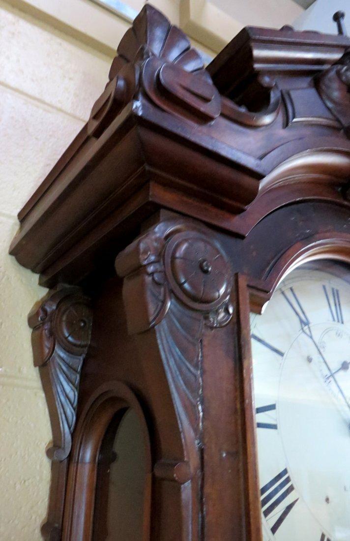 """Howard """"No 60 Regulator"""" Wall Clock - 8"""