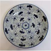 Xuande, 15th C. Blue & White Ming Plate