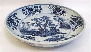 Ming Dynasty Porcelain Charger