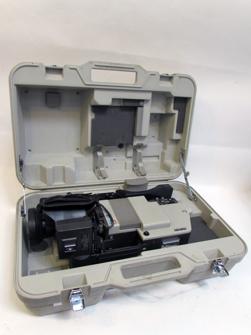Sony Betamax Video Camera In Case