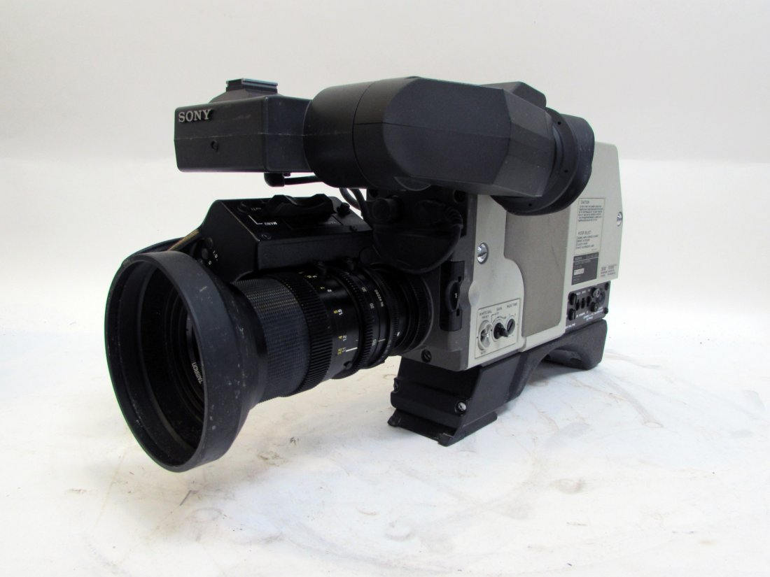 Sony Betamax Video Camera In Case - 3
