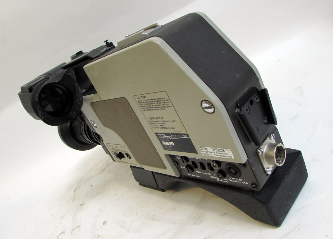 Sony Betamax Video Camera In Case - 5