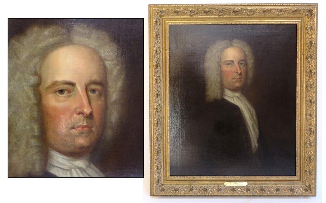 Portrait Of Charles Viscount Townshend (D. 1738)