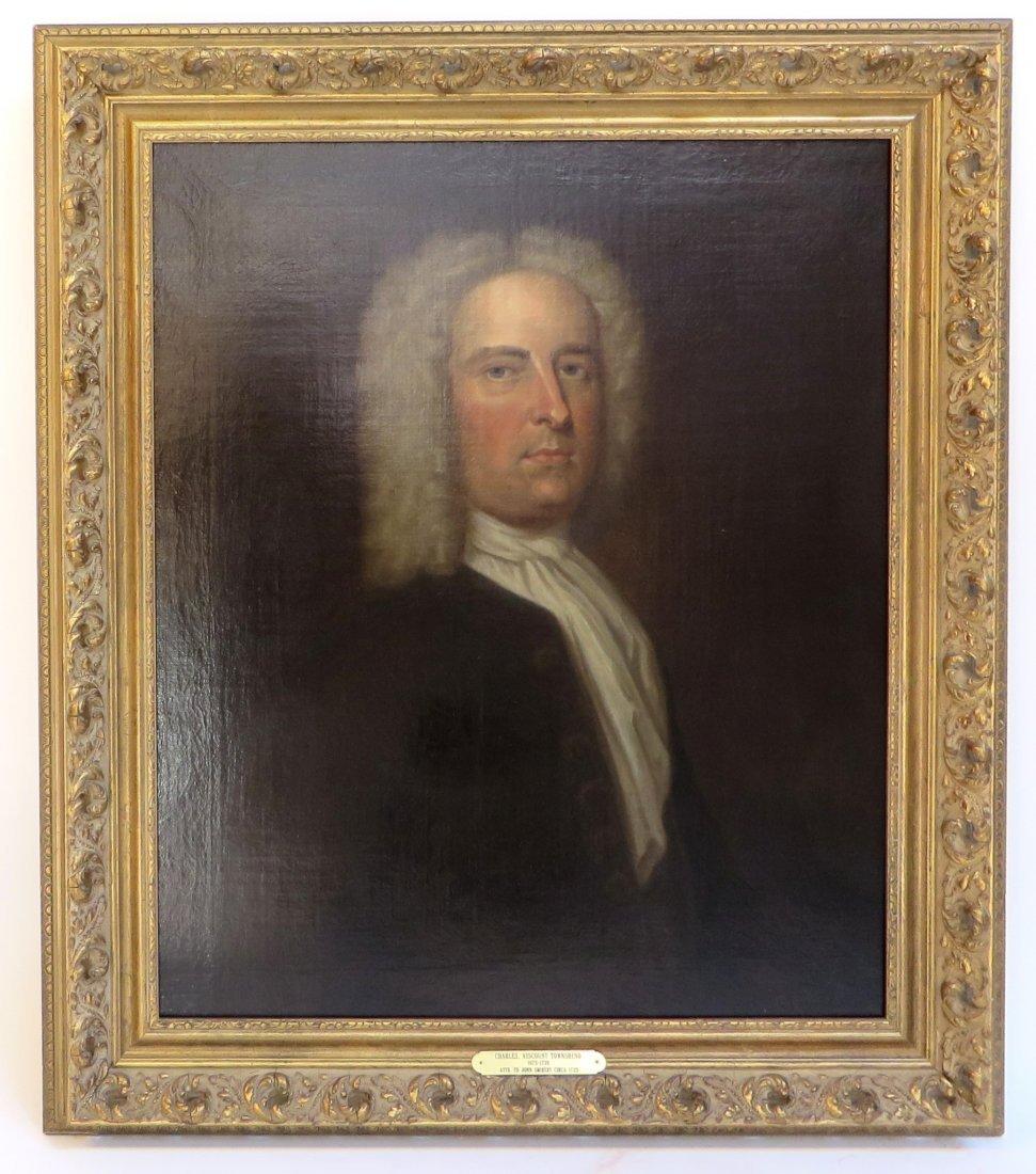 Portrait Of Charles Viscount Townshend (D. 1738) - 2