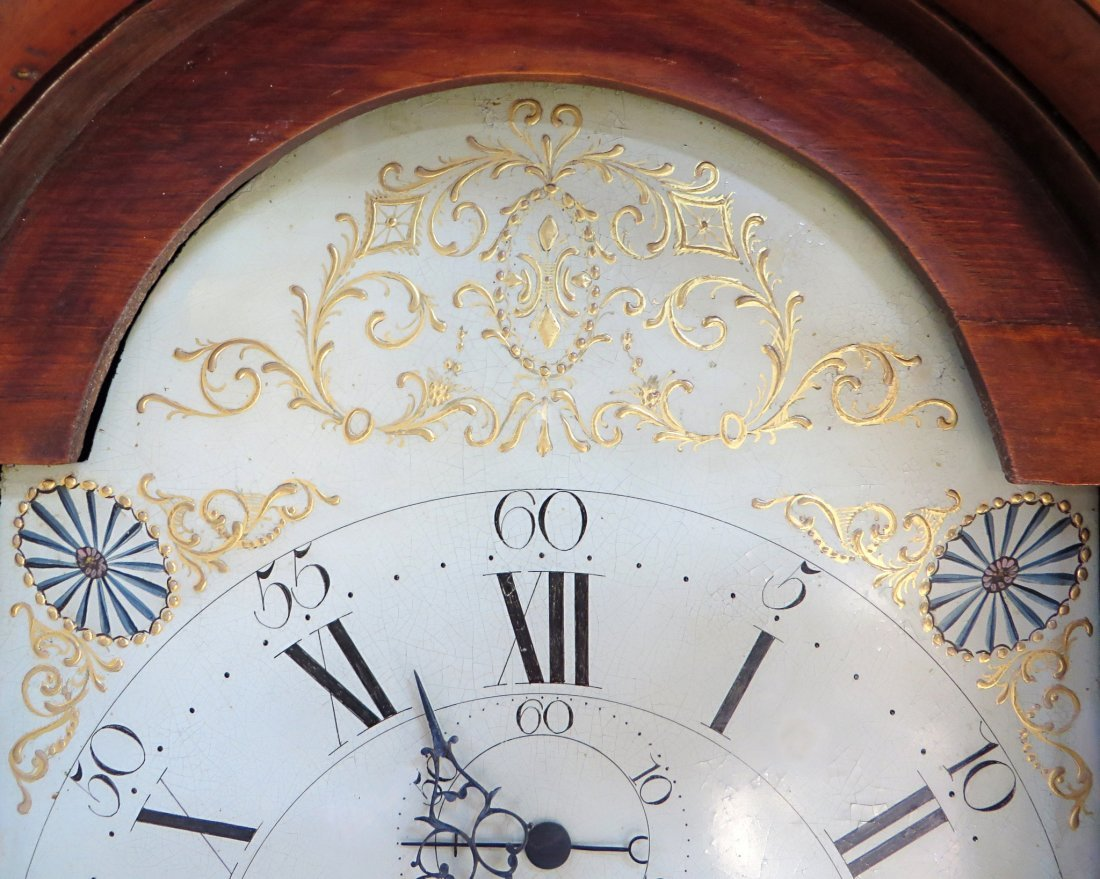 Late Federal Tall Case Clock By John Osgood - 3