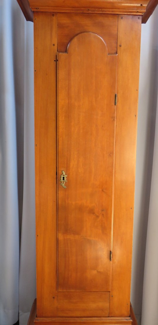 Late Federal Tall Case Clock By John Osgood - 5