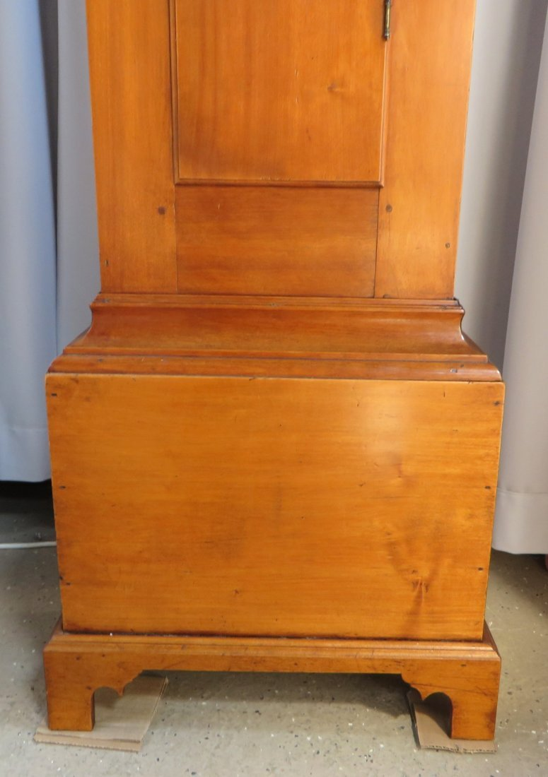 Late Federal Tall Case Clock By John Osgood - 6