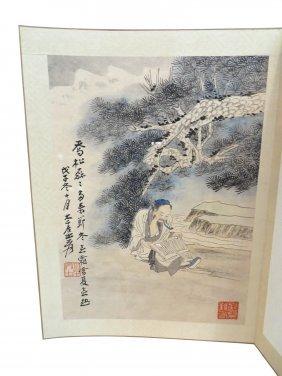 Zhang Daqian Painting Book