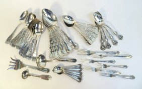 Assorted Antique Sterling Silver Flatware