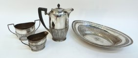 Four Piece Sterling Coffee Set