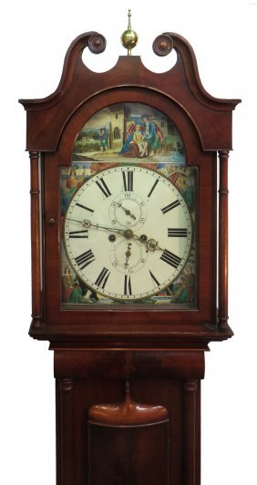 Scottish Tall Case Clock