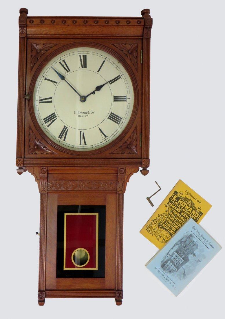 E. Howard Clock Company  #75 Wall Clock