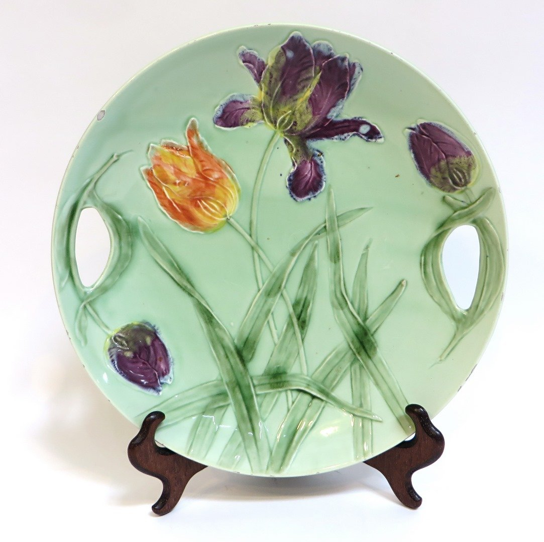 Arts And Crafts Tulip Cake Plate