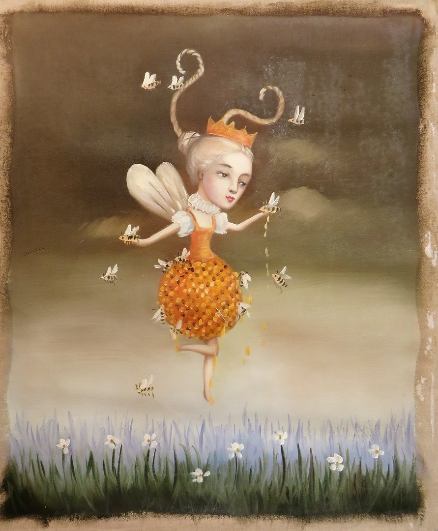 Fairy With Bees