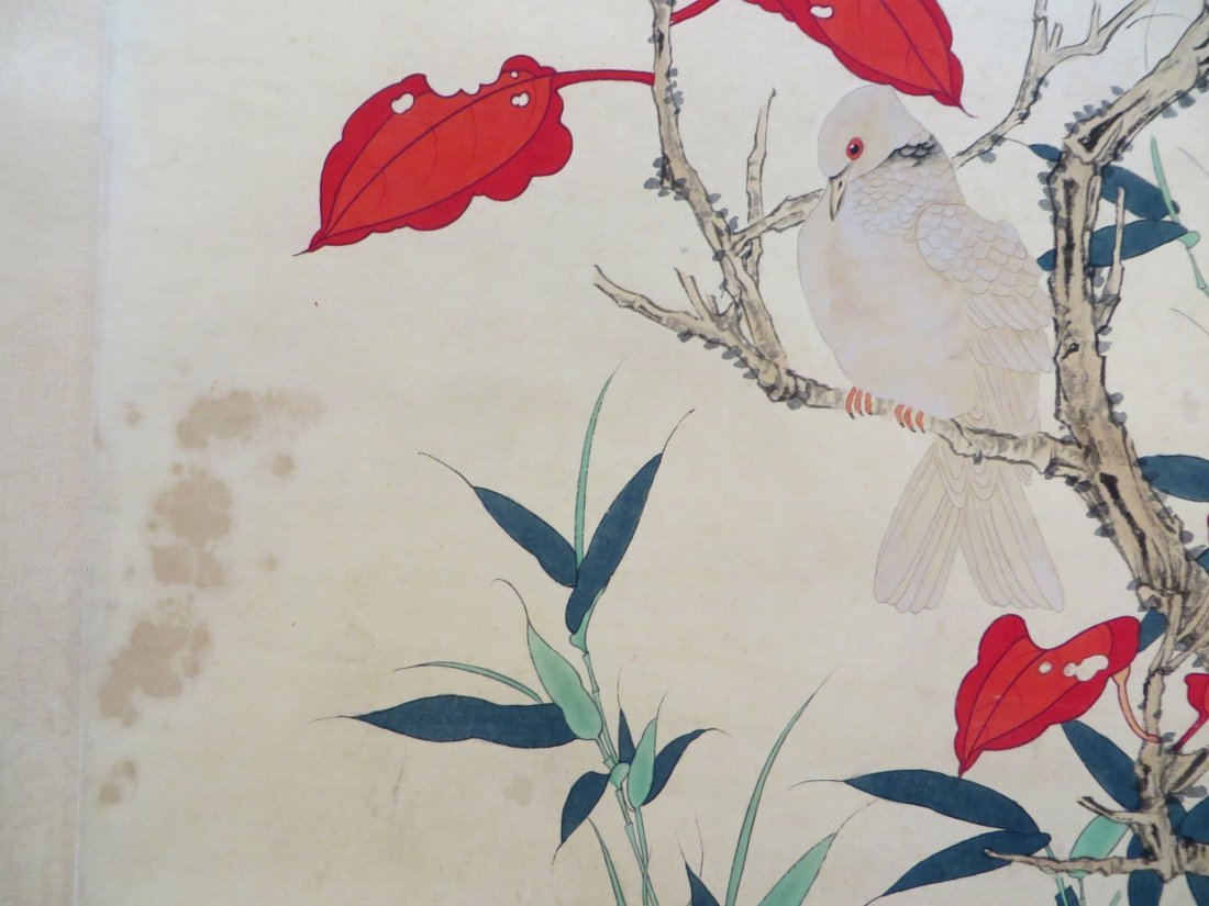 Chinese Pigeon Scroll - 3