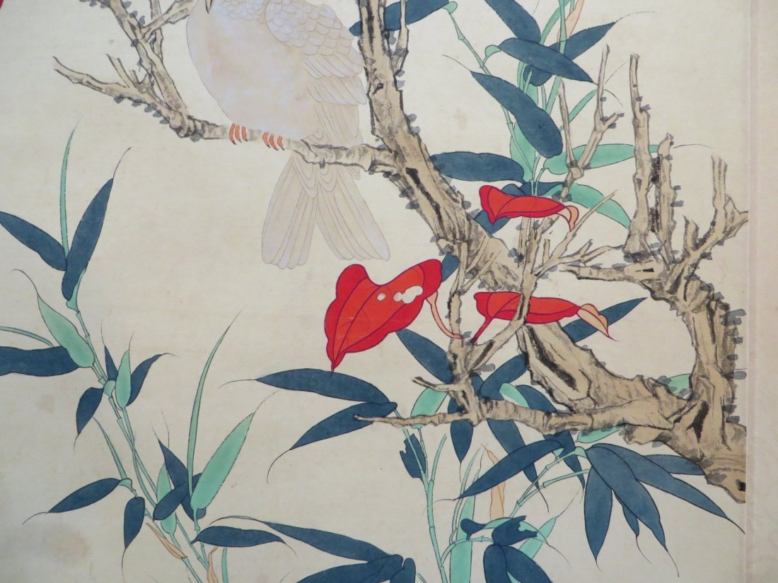 Chinese Pigeon Scroll - 8
