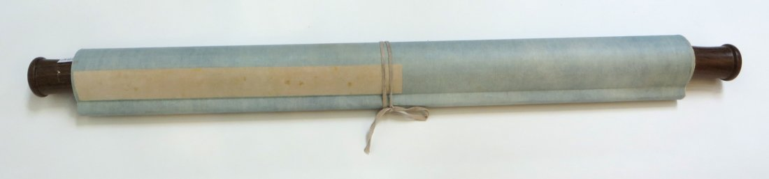 Chinese Pigeon Scroll - 9