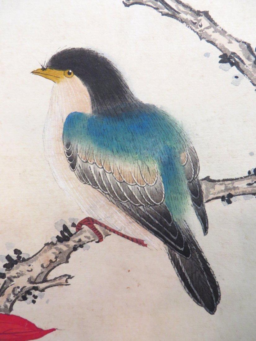 Chinese Songbird Scroll - 2