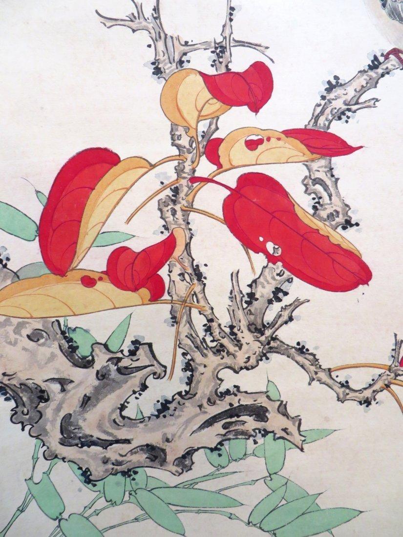 Chinese Songbird Scroll - 6