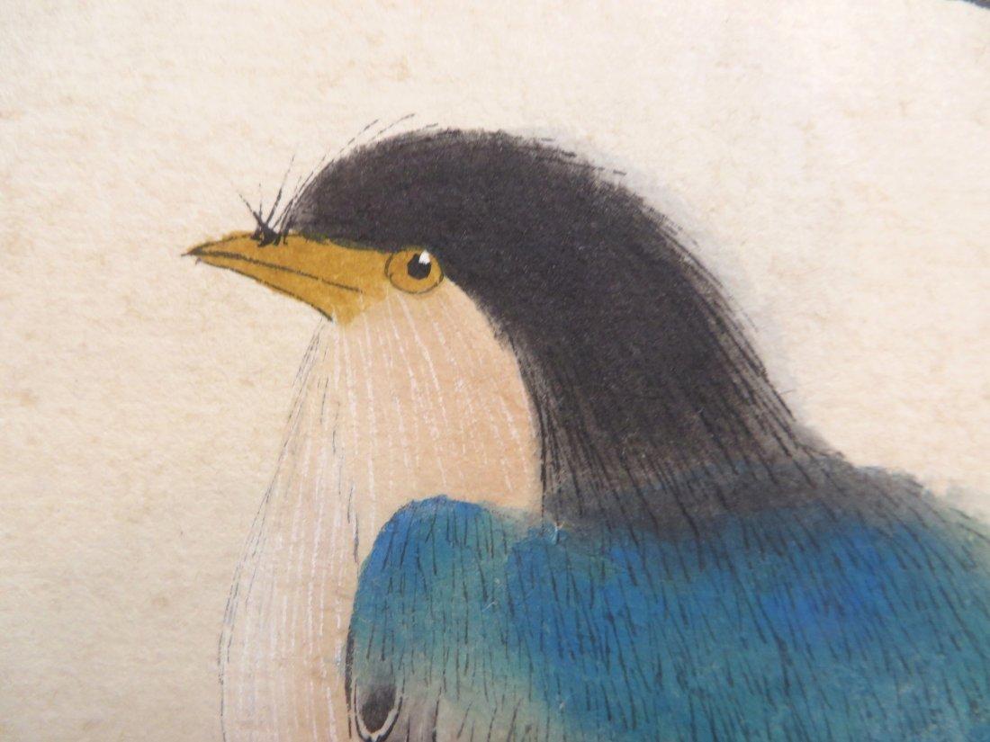 Chinese Songbird Scroll - 7