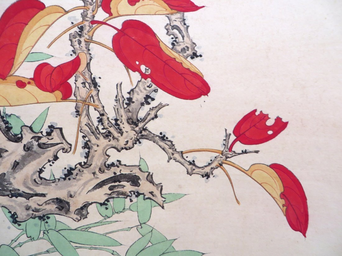 Chinese Songbird Scroll - 8