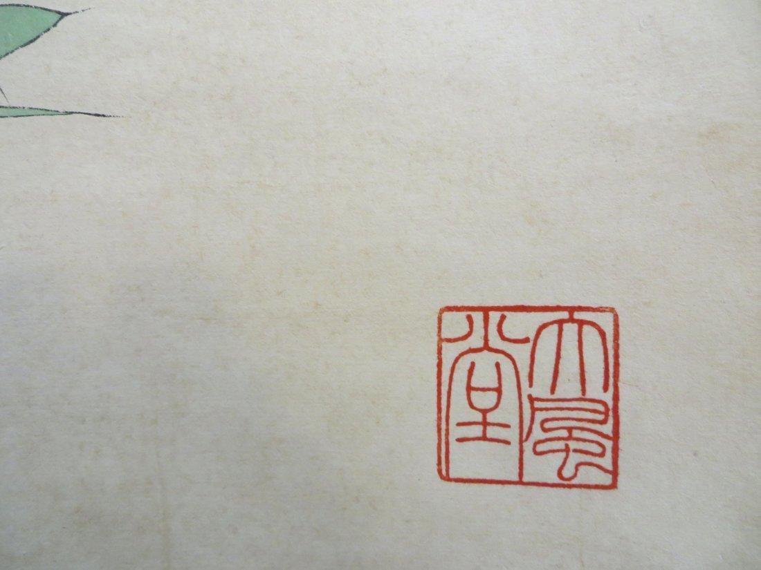 Chinese Songbird Scroll - 9