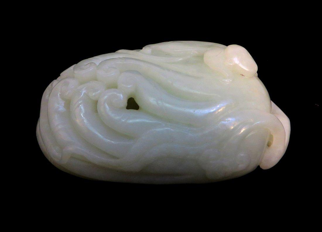 White Jade Buddha Hand - 2