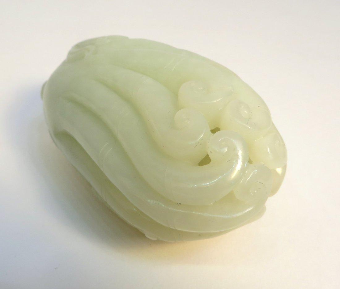 White Jade Buddha Hand - 5