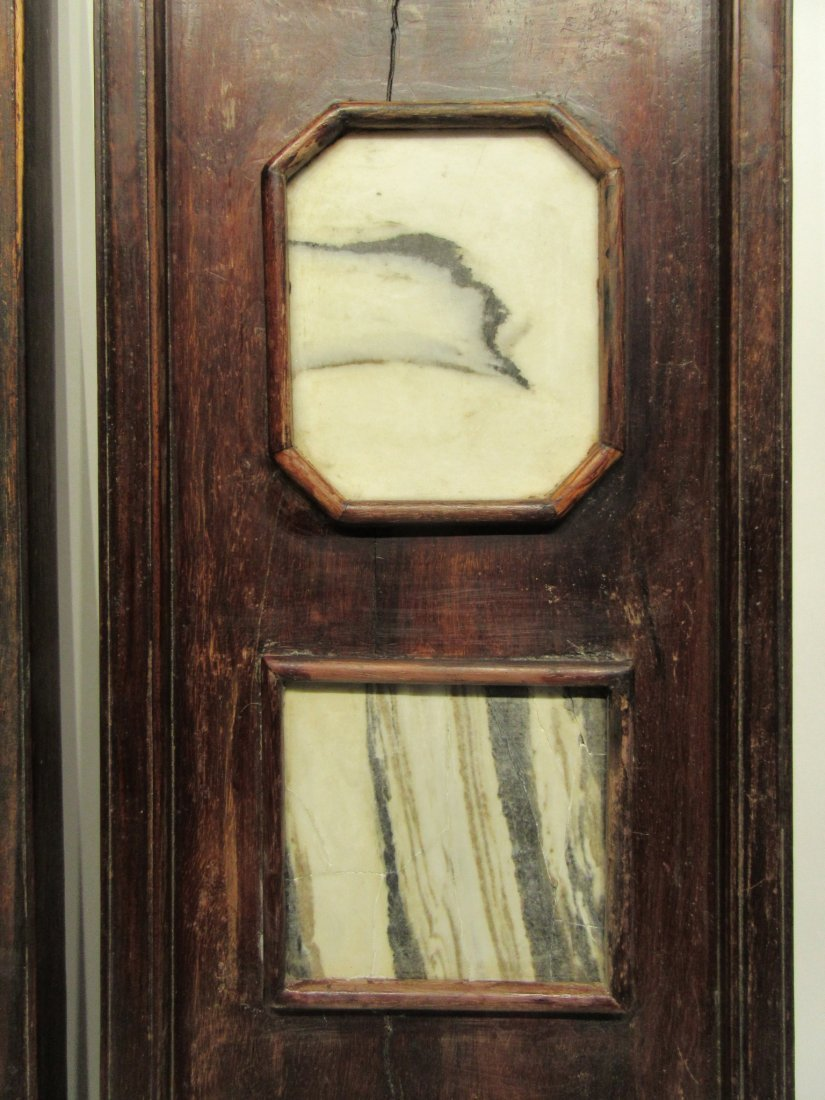Pair Of Chinese Panels With Inset Scholar Stones - 3