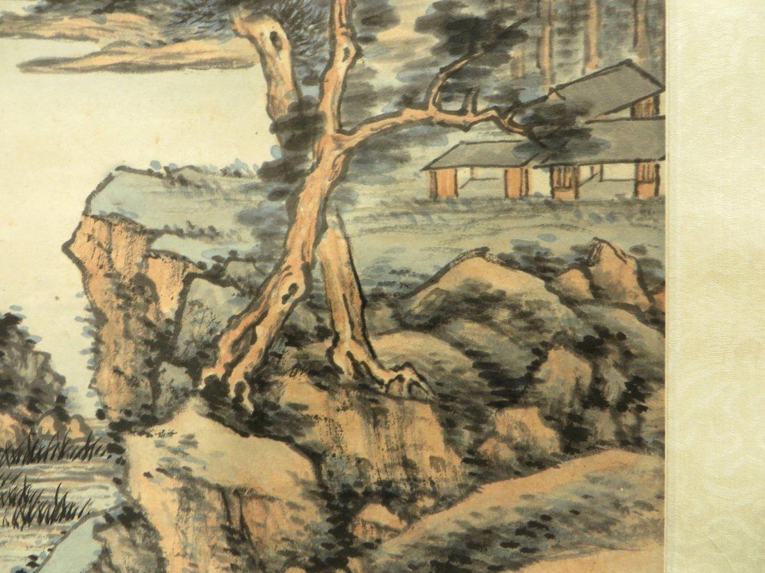 Landscape Scroll Attr. Chaoran Feng - 5