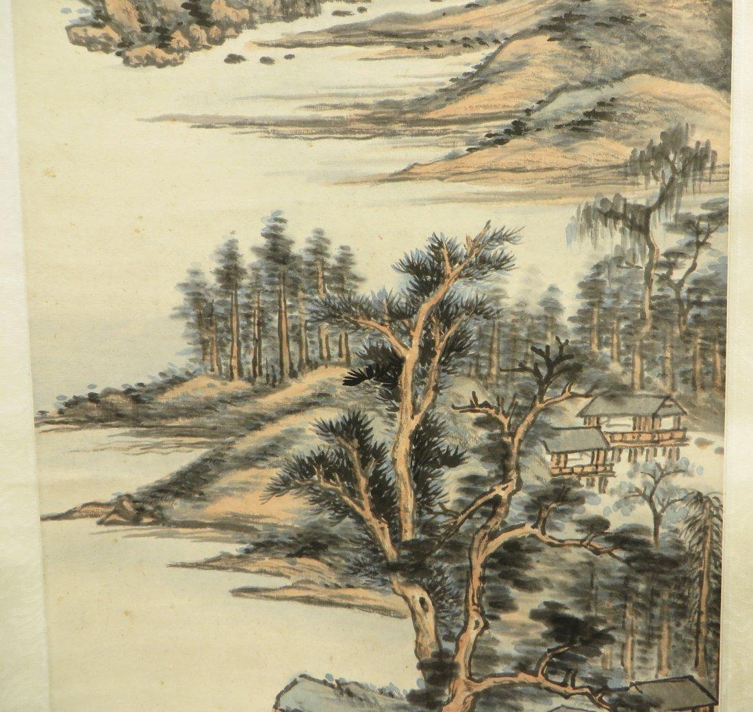 Landscape Scroll Attr. Chaoran Feng - 6